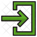 Enter Import Direction Icon