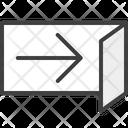 Open Enter Login Icon