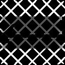 Enter Arrow Left Icon