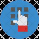 Enter Code Keypad Icon