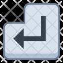 Enter key Icon