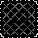 Enter Return Keyboard Icon
