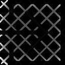 Enter Right Arrow Icon