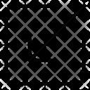 Entering Minimize Arrow Icon