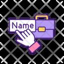 Entering Profile Name Name Dating Icon