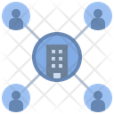 Enterprise Company Organization Icon