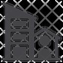 Enterprise Building Skycraper Icon