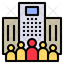 Enterprise Organization Business Icon