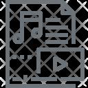 Entertainment File Media Icon