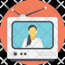 Entertainment Tv Broadcast Icon