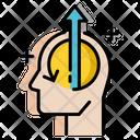 Enthusiastic Mindset Mindset Thinking Icon