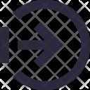 Entrance Arrow Right Icon