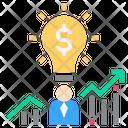 Entrepreneur Idea Business Icon
