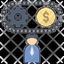 Entrepreneur Businessman Process Icon