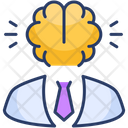 Avatar Entrepreneur Brain Icon