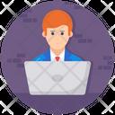 Entrepreneur Businessman Businessperson Icon