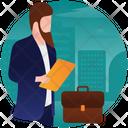 Entrepreneur Businessman Employer Icon