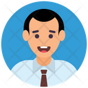 Businessman Entrepreneur Manager Icon