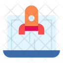 Entrepreneur Launch Startup Icon