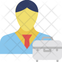 Entrepreneur Merchant Trader Icon