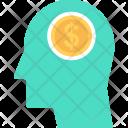 Entrepreneurship Dollar Head Icon