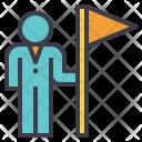 Entrepreneurship Leader Explorer Icon