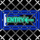 Entry Entrance Gate Icon