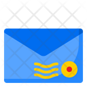 Envelop Stamp Letter Stamp Icon