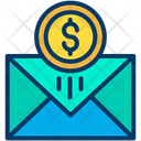 Money Envelope Currency Envelope Money Letter Icon