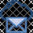 Cloud Storage Envelope Icon
