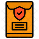 Envelope File Protection Icon