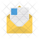 Envelope Open Mail Icon