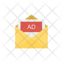 Envelope Advertisement Message Icon
