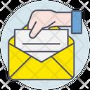 Business Envelope Letter Icon