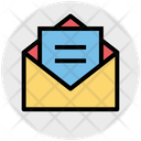 File Envelope Open Envelope Icon