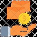 Envelope Coin Dollar Icon