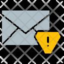 Envelope Alert Warning Icon