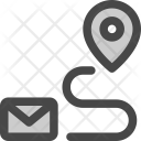 Envelope Message Delivery Icon