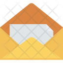 Envelope Open Letter Icon