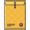 Envelope Package Design Icon