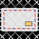 Retro Airmail Correspondence Icon