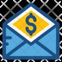 Envelope Letter Dollar Icon