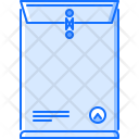 Package Envelope Design Icon