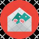 Envelope Cash Money Icon