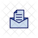 Envelope and letter Icon