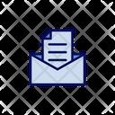 Envelope And Letter Letter Envelope Icon