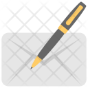 Envelope And Pen Icon