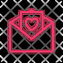 Envelope Love Letter Love Icon