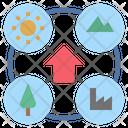 Environment Atmosphere Surround Icon