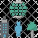 Environment Human City Icon